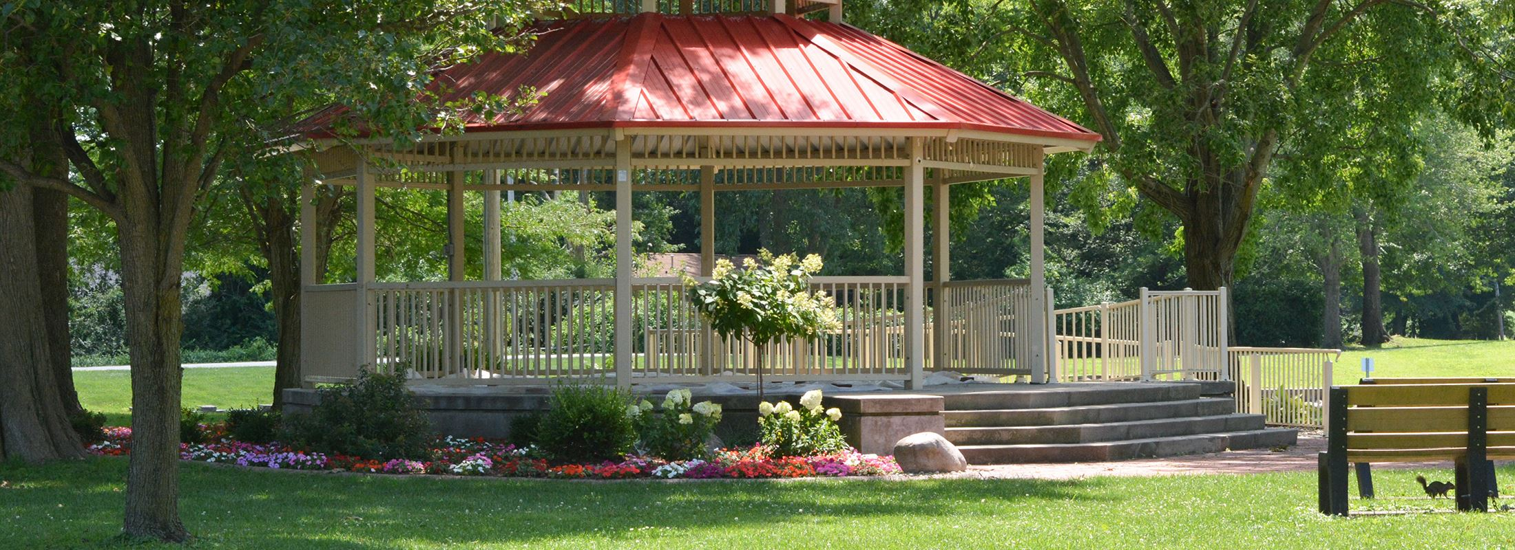 Gazebo in Tri Township Park (PDF)